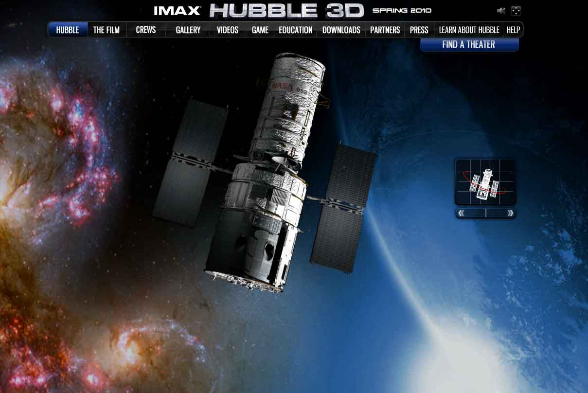 IMax Hubble 3D – The Portfolio of Peter Couture